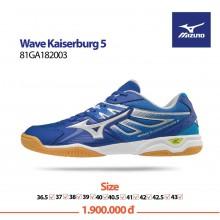Giày Mizuno Wave Kaiserburg 5 (Xanh Bạc)