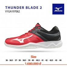 Mizuno Thunder Blade 2 (Đỏ trắng đen)