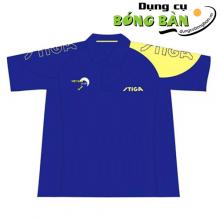 Áo Stiga 2015-6A (Xanh Bích-Vàng)