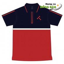 Áo PingPong T Sport (Xanh Đen - Đỏ)