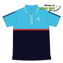 Áo PingPong T Sport (Xanh Ya - Xanh Đen)